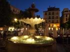 Granada. Plaza Nuevo.
