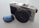 Olympus PEN E-P1 mit Lumix G 20mm/f1.7 ASPH