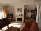 Wohnzimmer, Kamin, Möbel