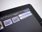 iPad Photos.app mit neuer Funktion.