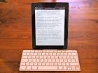 iPad im Tastaturdock