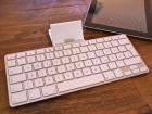 Das iPad Tastaturdock