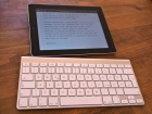 Bluetoothtastatur und das iPad
