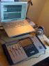 Letztes Setup vor der Pause: MacBook Pro und Euphonix-Controller.