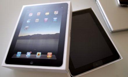 iPad arrived.