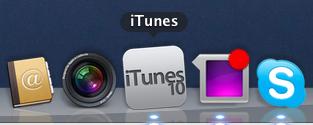 iTunes 10. Logo. Hässlich.