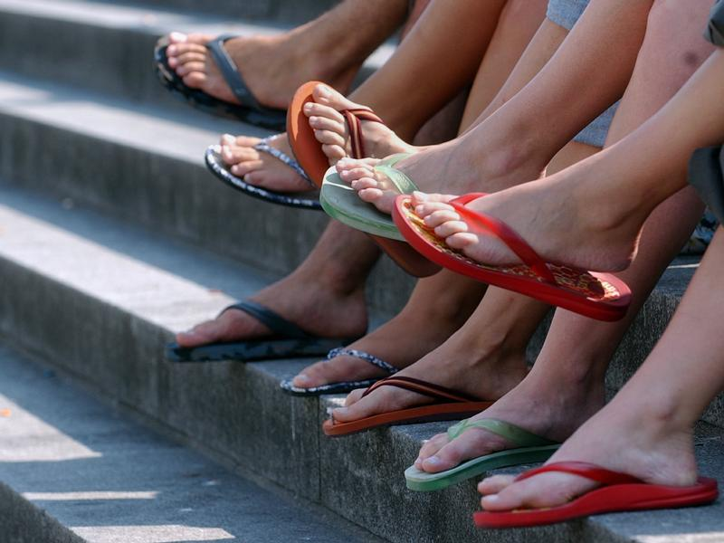Flip Flops.