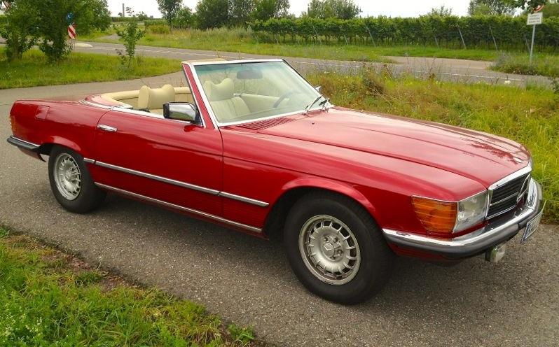 280 SL, die alte Lady