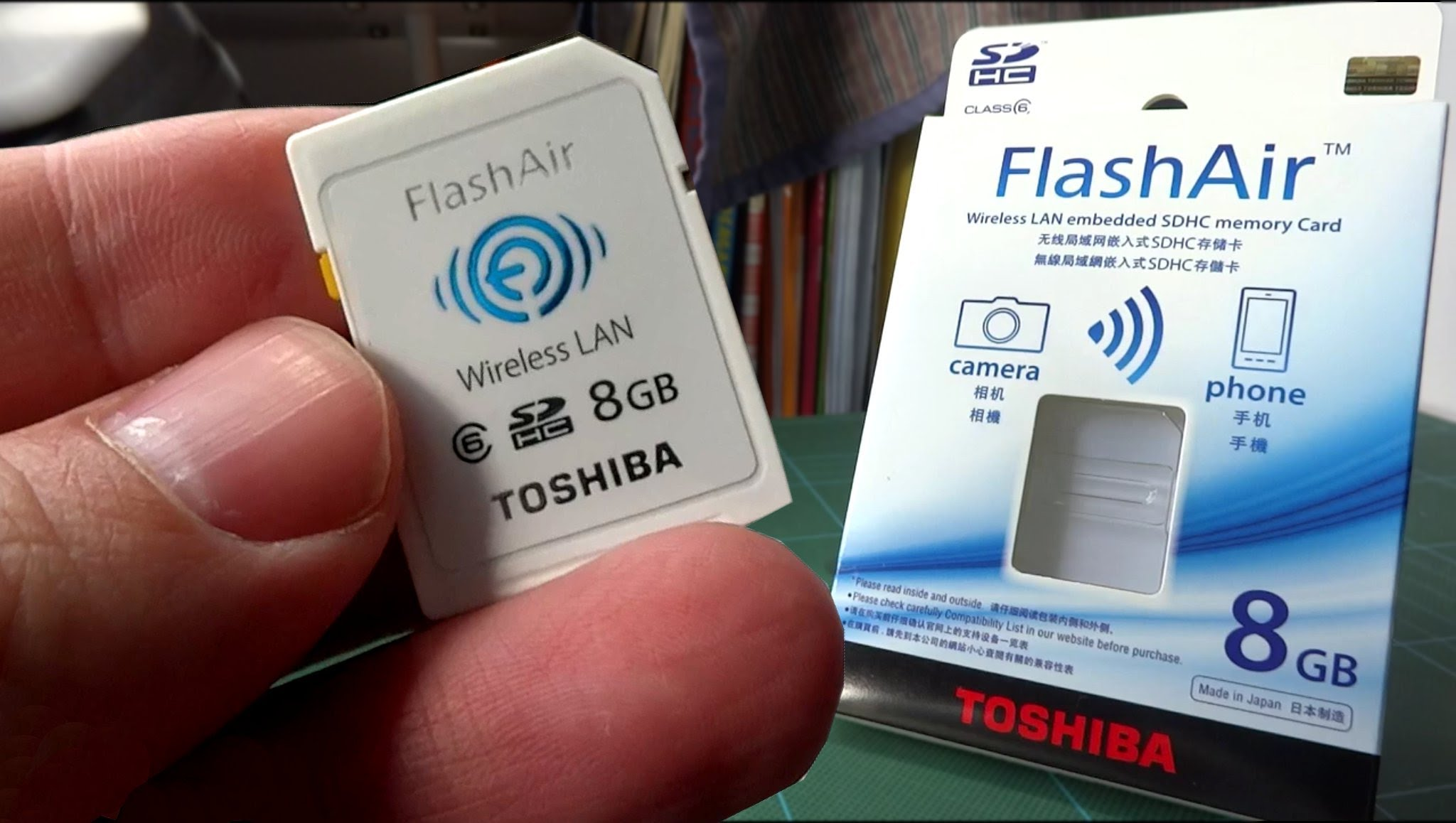 Toshiba FlashAir 8GB