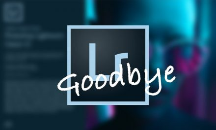 Goodbye Lightroom