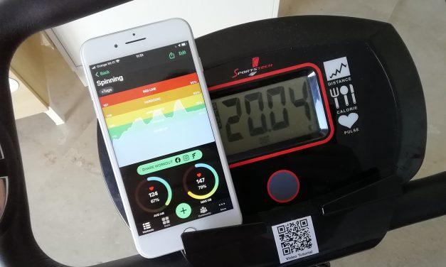 FITIV. Live-Pulskontrolle von der Apple Watch auf das iPhone.