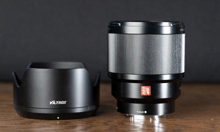 Viltrox 85mm Mk1: Update von f1.8 auf f1.6 für Umme